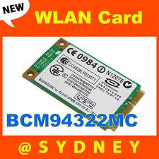 NEW Broadcom BCM94322MC BCM4322 802.11n Dual-Band Wireless WIFI WLAN Mini Card