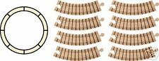 New Beginner Wooden Train Set - Circle Track - Toy made in Usa