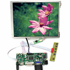 "HDMI VGA DVI LCD Control Board 10.4"" 800x600 LED Backlight Replace G104SN03 V1"