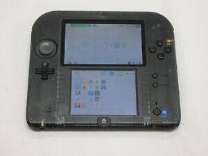 C457 Nintendo 2DS console Clear Black Japan