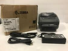 Zebra GK420d USB/Ethernet Thermal Barcode Printer Peeler GK42-202211-000 No DVD