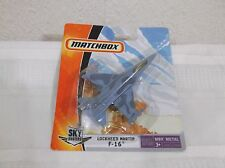 MATCHBOX SKY BUSTERS LOCKHEED MARTIN F-16 FIGHTER AIRPLANE K7500