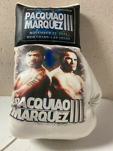 11/12/2011 Marquez vs Manny Pacquiao Full Size Promotional Boxing Glove