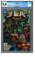 JLA #1 (1997) Key 1st Issue DC Comics CGC 9.8 White Pages ZZ211