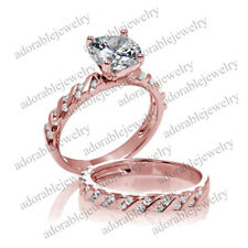 Band Engagement Sterling Silver Very Good Fine Diamond Rings