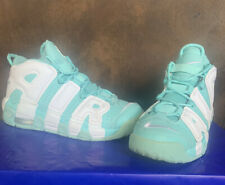 NIKE AIR UPTEMPO SHOES SIZE 6.5Y Turquoise