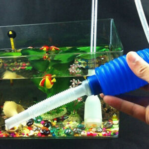 1x Biorb Change Cleaner Syphon Aquarium Fish Tank Vacuum Hand Pump Water Siphon