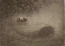 Hedgehog in the Fog Y.Norstein's/Norshteyn Signed Giclée (Hedgehog and The Fish)