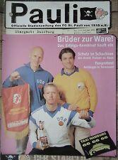 Programm 2000/01 FC St. Pauli - MSV Duisburg