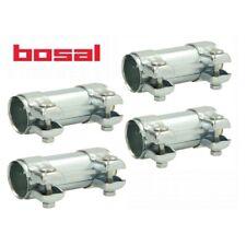4X BOSAL 265-459 Rohrverbinder, Abgasanlage AUDI SEAT SKODA VW 50.5x125 mm