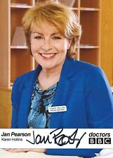 Jan Pearson ( Doctors ) Signed Cast Card