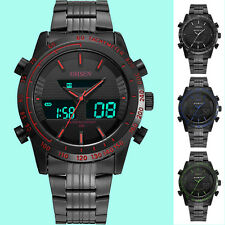 OHSEN Big Face Sports Watch for Men Waterproof Military Analog Digital Watch New
