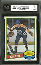 1980-81 O-PEE-CHEE~#289~MARK MESSIER~HALL OF FAME ROOKIE CARD~KSA 8