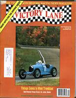 Victory Lane Magazine December 1994 Vintage Mont Tremblant VGEX 012816jhe