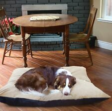 Orthopedic Dog Bed Large Removable Cover Throw Pillow Deluxe Big Pet Deodorizing