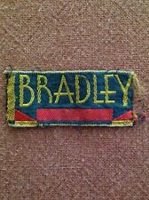 Vintage Designer Clothing Label Tag - Bradley