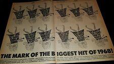 Funny Girl Barbra Streisand Rare Original 1969 Promo Poster Ad Framed!