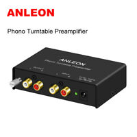 ANLEON Mini Audio Phono Turntable Preamp Preamplifier Crosley Technica Amplifier