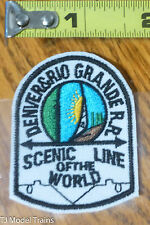 Patch #189 Denver & Rio Grande R.R. Scenic Line of the World ( Railroad Patch )