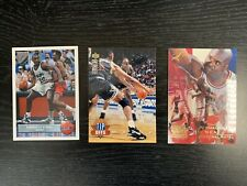 3 Vintage 1990's Shaquille Oneal Shaq Trading Cards