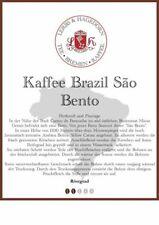 Brazil São Bento Kaffee 1kg