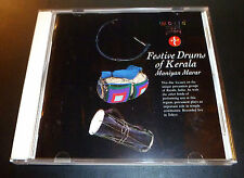 """World Music Library """"FESTIVE DRUMS OF KERALA"""" (CD 1989) 3-Tracks Marar EXCELLENT"""