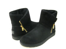 UGG KIP WOMEN ANKEL BOOTS SUEDE BLACK US 11 /UK 9.5 /EU 42