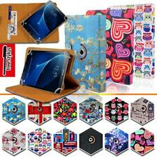 Folio Rotating Stand Wallet Leather Cover Case For Samsung Galaxy Tab 2/3/4