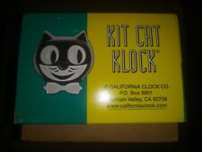 Vtg Kit Kat Klock 75th anniversary jeweled NWT in the box.