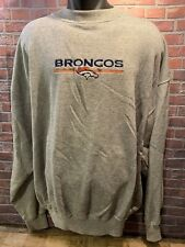 Vintage Denver BRONCOS Football NFL Majestic Sweat Shirt Size L