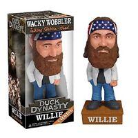 Duck Dynasty - Willie Wacky Wobbler Bobble Head NEW