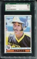 1979 Topps Baseball #116 Ozzie Smith Rookie Card RC Graded SGC Nr Mint+ 86