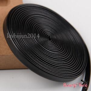 bright black genuine leather Tsuka-Ito 400 cm for Japanese Samurai Sword Katana