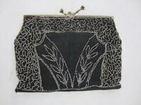 Vintage CHARLET Beaded Evening Handbag Bag Purse Clutch Paris New York