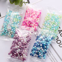 Filler Handmade DIY UV Resin No Hole Jewelry Making Imitation Pearl Beads