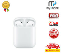 NEW Apple AirPods 2nd Generation with Charging Case MV7N2ZM/A White