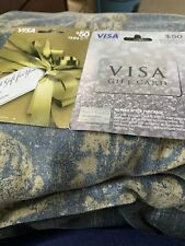 (TWO)   $50.00   Gift Card Ready To Use