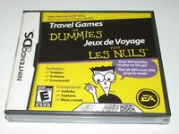 Travel Games for Dummies for Nintendo DS Brand New! Fast Shipping!