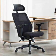 High Back Mesh Office Chair Adjustable Ergonomic Swivel Computer Desk Task Chair