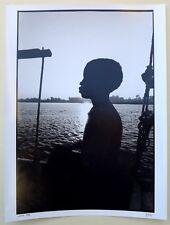 Photo François Dupuy - Egypte 1990 - Tirage argentique 30x40 baryté -