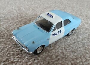 TROFEU 1/43rd scale 523 Ford Escort Police panda Car blue / white