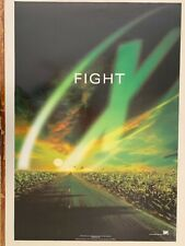 X-FILES, FIGHT, THE MOVIE, RARE 1998 POSTER
