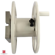 New listing 100 ft. Sidewinder Resin Hose Reel, Dark Taupe Wall Mount Sturdy Resin New