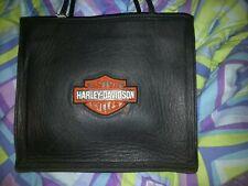 Harley Davidson Leather Bar and Shield Tote Bag Handbag Shoulder Bag Purse
