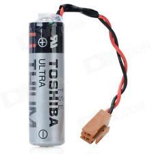 Toshiba ER6V 3.6V 2400 mAh Lithium Battery w/plug