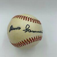 Bruno Sammartino Signed National League Baseball JSA COA WWE Wrestling