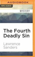 The Fourth Deadly Sin by Lawrence Sanders (2016, MP3 CD, Unabridged)