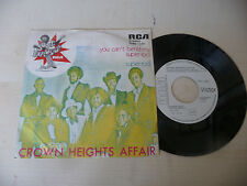 """CROWN HEIGHTS AFFAIR""""YOU CAN'T BEND MY SUPER-disco 45 giri RCA It1974""""PERFETTO"""