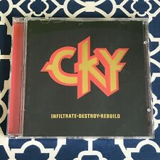 CKY - Infiltrate. Destroy. Rebuild. CD (2002) *AUTOGRAPHED by ENTIRE BAND*