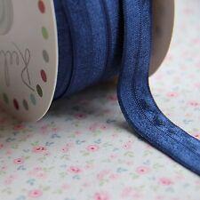 5m Azul marino plegable Bebé Diadema Elástico 16mm